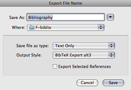 how to open bibtex file