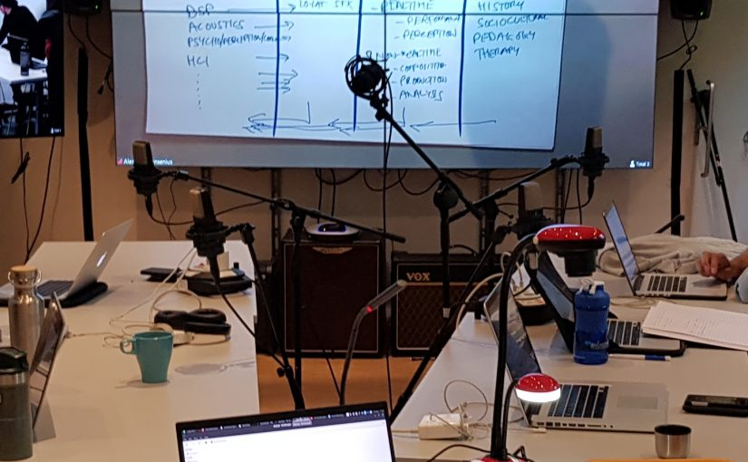 Teaching with a document camera