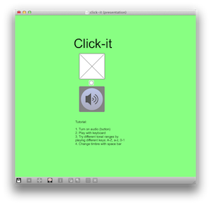 Click it GUI