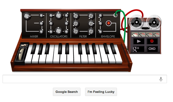 Moog on Google