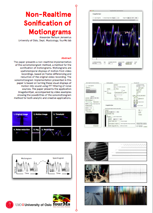 New publication: Non-Realtime Sonification of Motiongrams